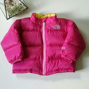 The North Face | 550 Pink Puffer Jacket | 3-6 M